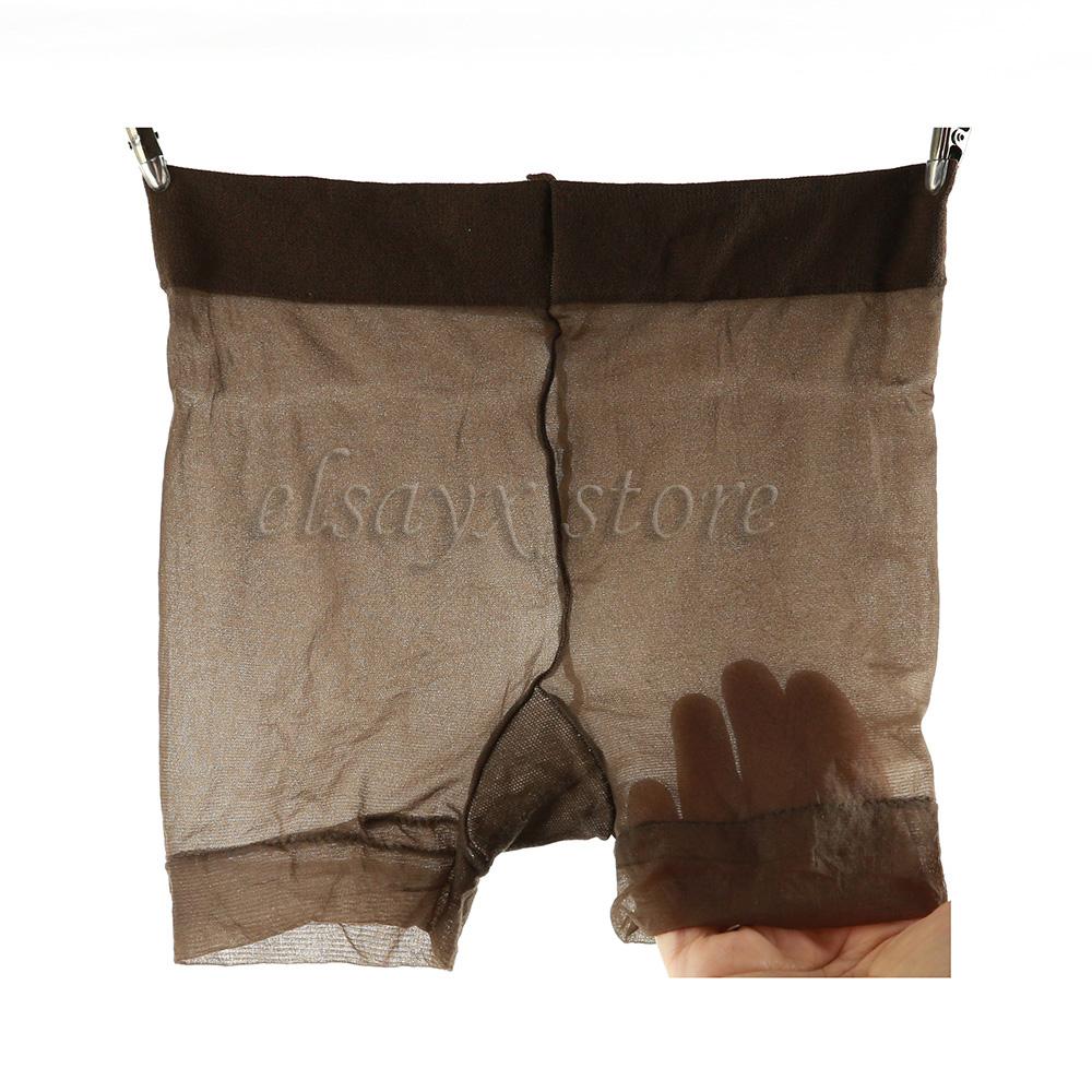Unisex Men Women Nylon See Through Sheer Underwear Shorts | eBay